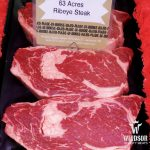 63 Acres ribeye steak